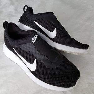 Black and White Nike Runners